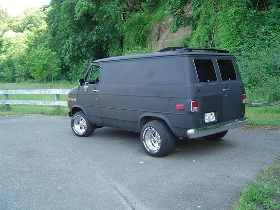 1977 Chevy Van | Another smashbox 1977 Chevrolet Van post...