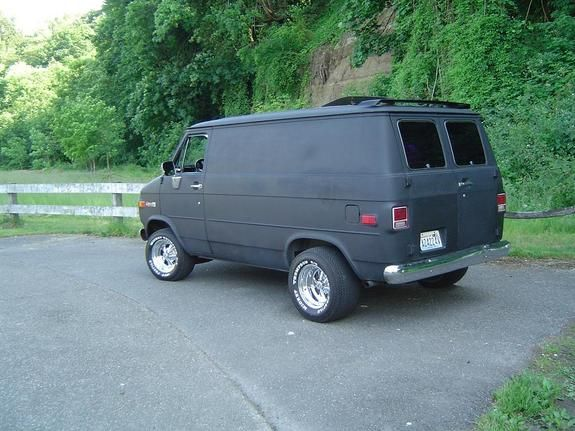 1977 Chevy Van | Another smashbox 1977 Chevrolet Van post...