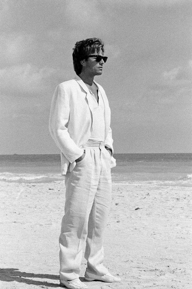 "Don Vice Johnson Miami | Don Johnson als James 'Sonny' Crockett in ""Miami Vice"""