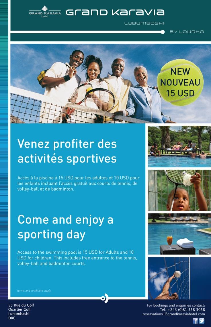 Grand Karavia Hotel - Sports Ad