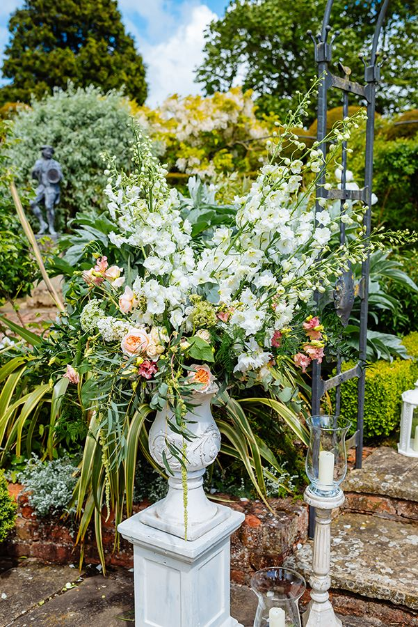 An enchanting secret garden wedding shoot for brides planning their dream day in a in a