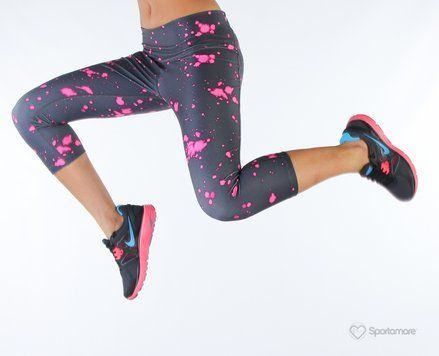 Nike Pop Art Tight Capri #run