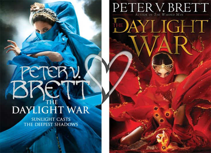 Books by Proxy | The Friday Face-Off  - The Daylight War by Peter V. Brett - UK vs US draw!
