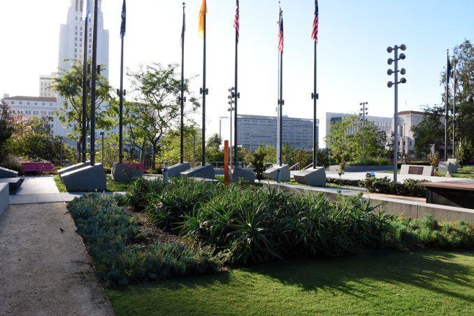Grand Park Los Angeles Usa Park City Landscapearchitecture Design Losangeles Dtla Los Angeles Parks Los Angeles Landscape Architecture