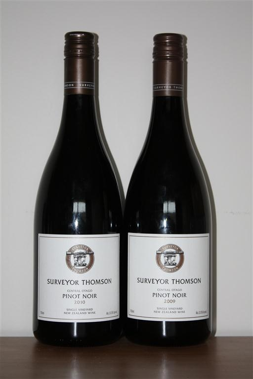I love Central Otago Pinot Noir and Surveyor Thomson Wines, dedicated to producing exceptional single vineyard pinot noir in Central Otago, has provided me with the opportunity to try 2 vintages of this special wine and the Explorer Pinot Noir as well.