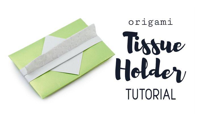 Origami Tissue Holder Tutorial ♥︎ DIY ♥︎ Paper Kawaii