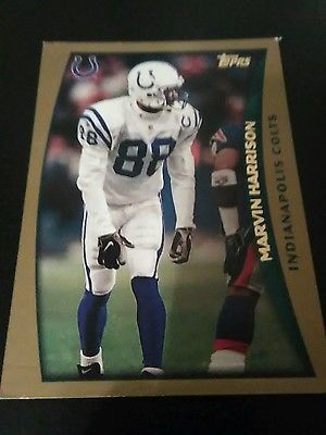 1998 Topps #183 Marvin Harrison: Colts