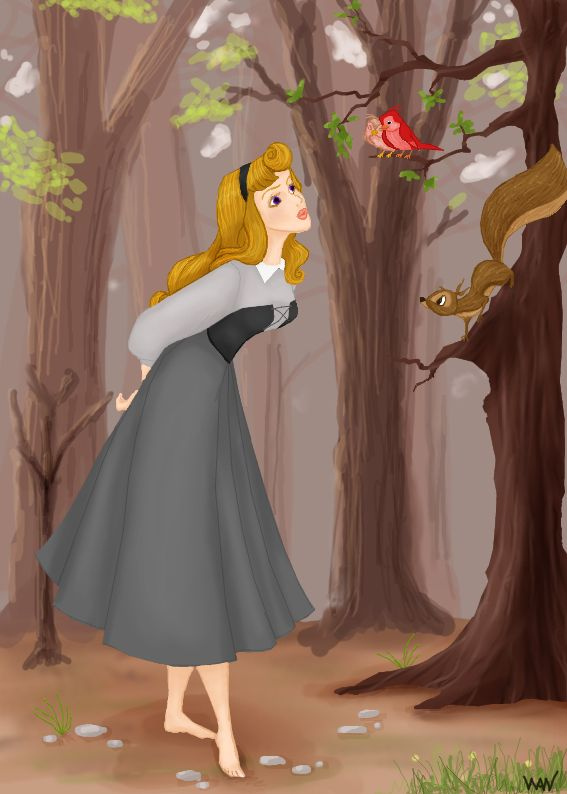 Briar Rose by Ninquetolliel