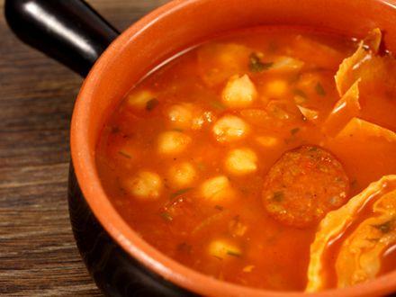 Supa de varza si naut, use varza muratâ