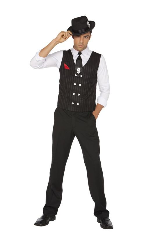 Halloween! Mens Gangster Mobster Mole Costume  Elegant Moments