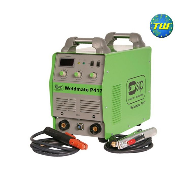 SIP 05254 Weldmate P417 390 Amp 3 Phase Arc Inverter Welder http://www.twwholesale.co.uk/product.php/section/7130/sn/SIP05254