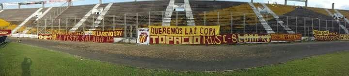 Panoramica Trapos de la RVS - Deportes Tolima