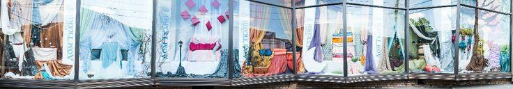 Оформление витрин в Том Самом Доме Ткани на Ленинском - Svadebniy Ray