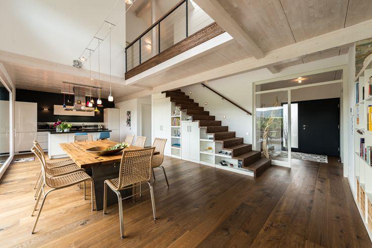 Offene-galerie-wohnzimmer-79. 40 best wohnideen von kern-haus ...