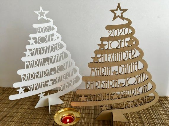 Personalised Glitter Copper Christmas Tree Decorations Copper Christmas Personalised Christmas Decorations Personalised Christmas Tree Decorations