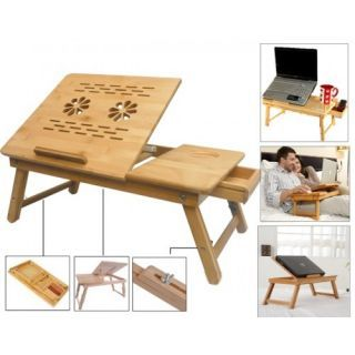 Buy Multipurpose Foldable Wooden Laptop Table Cum Study Table Online in India - 98505164 - ShopClues.com