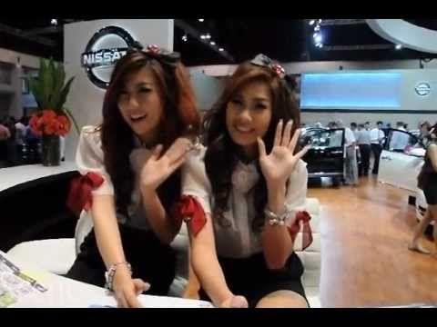 Thailand International Motor Expo Bangkok 2010. Movie by Paul Hutton, Bangkok Scene.