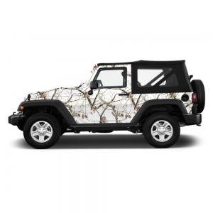 Realtree Suv Jeep Camo Wrap Love The Snow Camo For A
