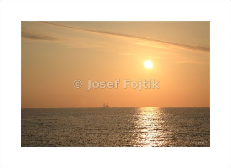 Fine Art Photography Print on a high-end photo paper - Sunset on the Atlantic Ocean