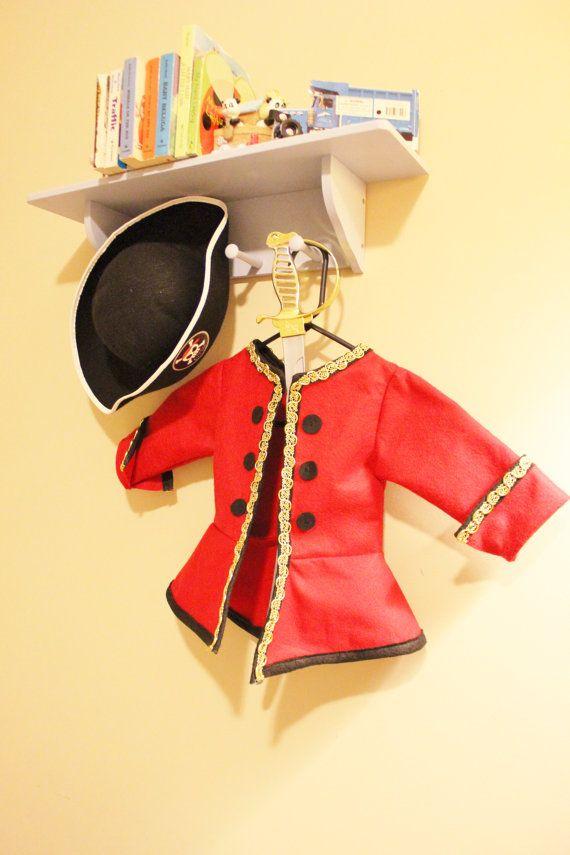 Pirate Jacket. Child Pirate Costume. Pirate Dress Up Jacket. Captain Hook…