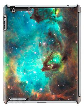 Green Galaxy iPad Case - Available Here: http://www.redbubble.com/people/rapplatt/works/8678211-green-galaxy?p=ipad-case&ref=artist_shop_grid