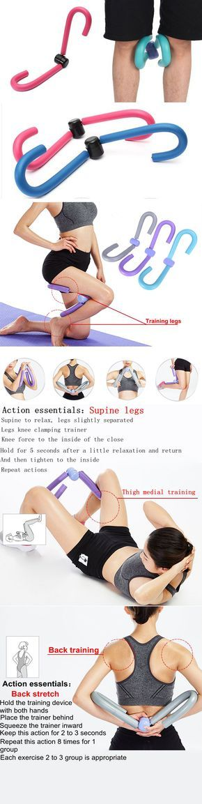 Thigh Master Muscle Toner Leg Arm Hip Breast Chest Exercise Machine Fitness Equipment