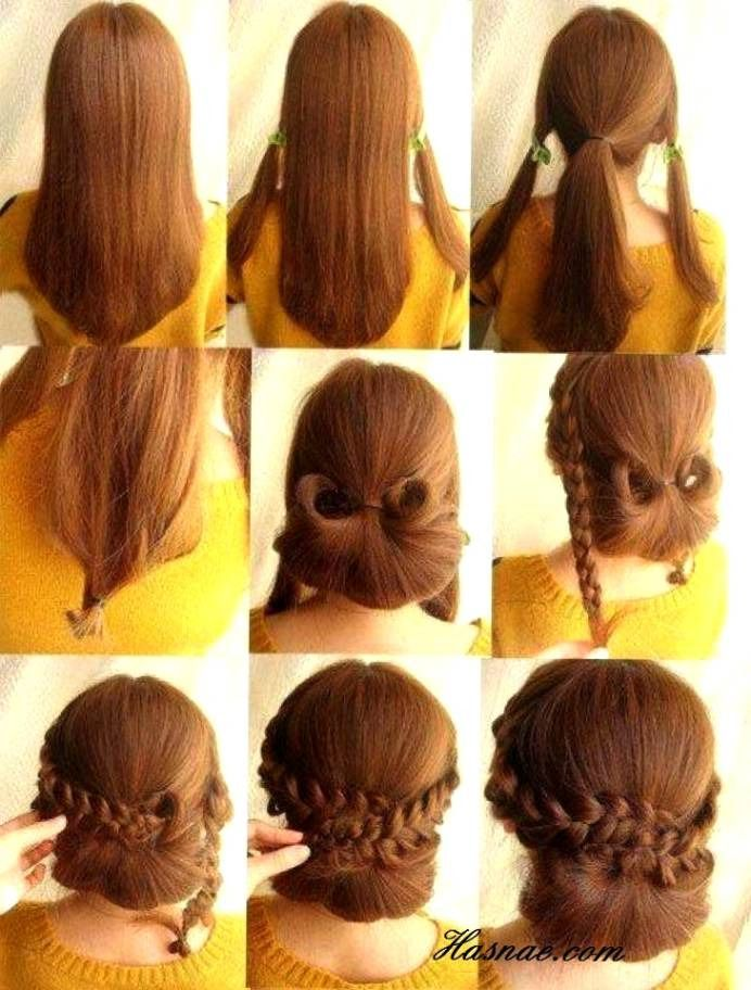 New Easy Hairstyle Ambada 2020 Victorian Hairstyles Hair Styles Hair Tutorial