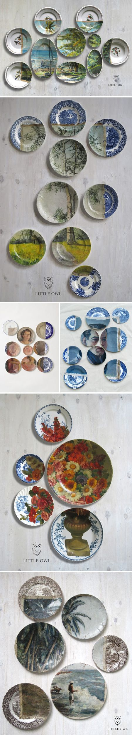 """'Altered Perspectives, by Little Owl Design – aka Bruce Wayland and Marcello de Simone. They are collaborating artists from the Netherlands with """"interests are in Art History, Fine Arts, Fashion, Design, Culinary World, Horticulture Travel.""""'"""