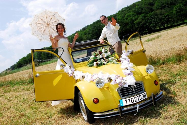 Citro n 2cv mariage photos pinterest 2cv deco for Decoration 2cv mariage