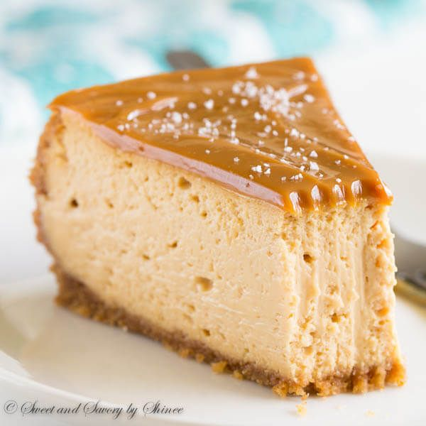 Sweet and creamy with touch of sea salt, this decadent dulce de leche cheesecake is quite a treat! All the steps are laid out in easy-to-follow visuals.