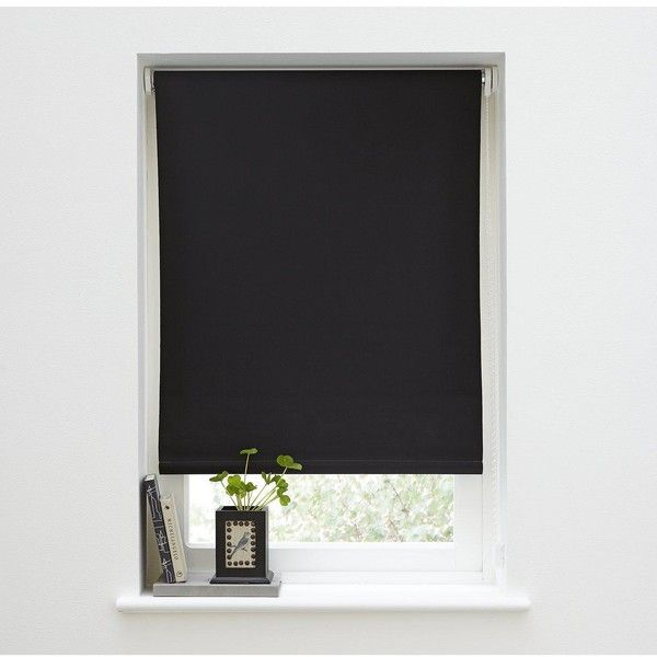 Hamilton Mcbride Blackout Roller Blind (25.255 COP) ❤ Liked On Polyvore  Featuring Home, Home Decor, Window Treatments, Window Blinds, Blackout  Window ...
