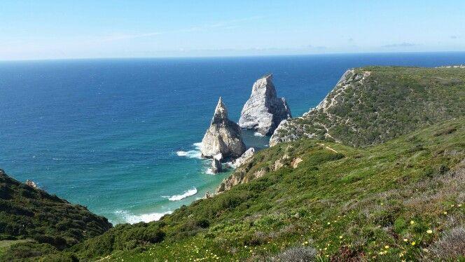 Praia da Ursa - Cabo da Roca - Sintra - Portugal - A praia mais Ocidental da Europa - uma das mais belas do mundo.