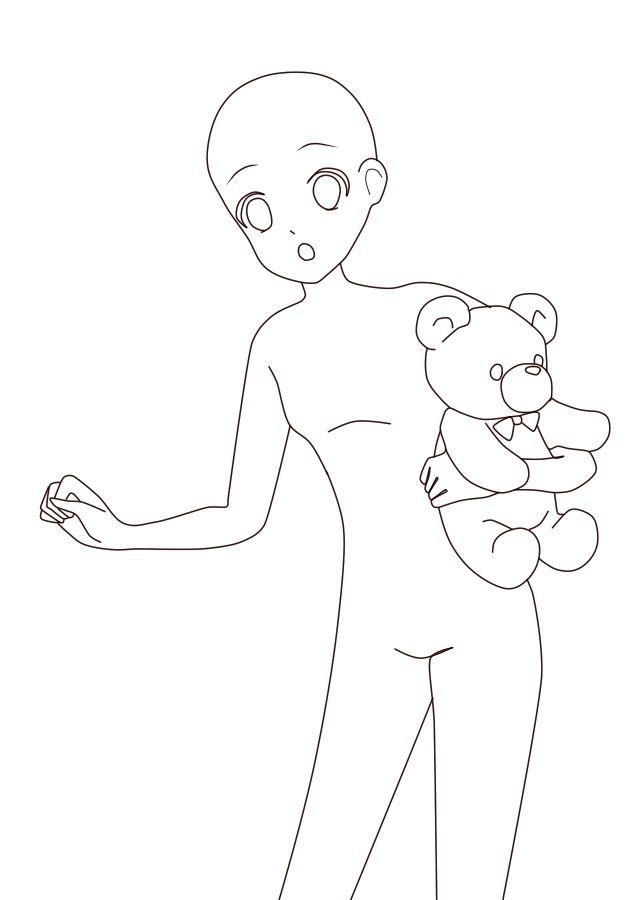 Reference Anime Manga Base In 2020 Anime Drawing Styles Anime Drawings Tutorials Drawing Anime Bodies