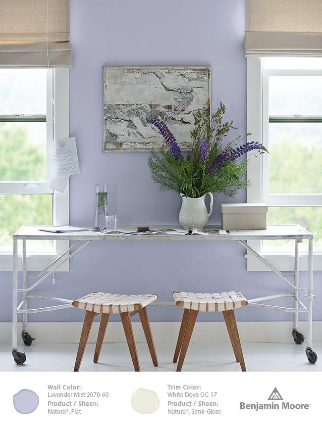 Benjamin Moore Lavender Mist 2070 60 Part Of Our Color