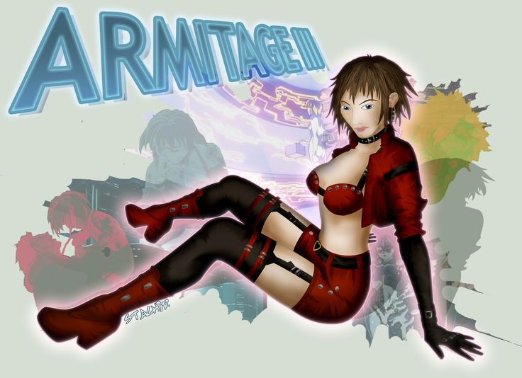 Armitage III   fanart by Stachir