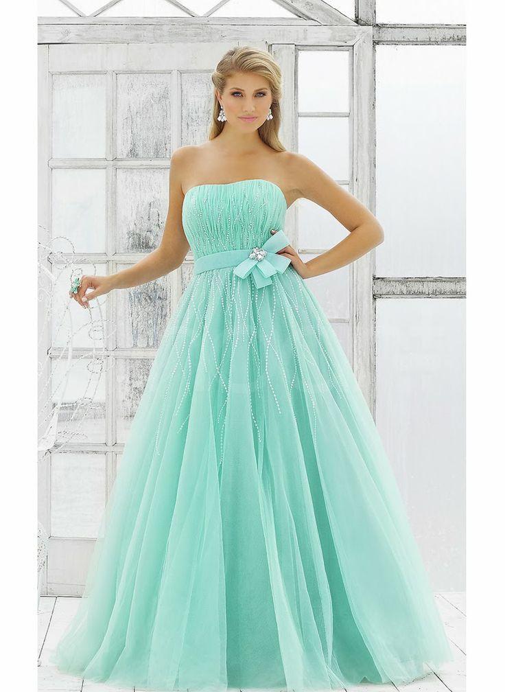Fantásticos vestidos de 15 años de colores | Moda 2014