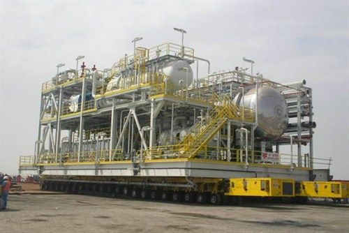 Onshore modular faciity for Yemen oil processing plant by Kentz