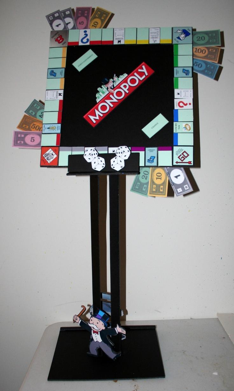 Robbie's Board Game Bar Mitzvah centerpiece by Parties ...