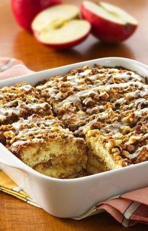 Apple Coffee Cake Recipe. My fall favorite!