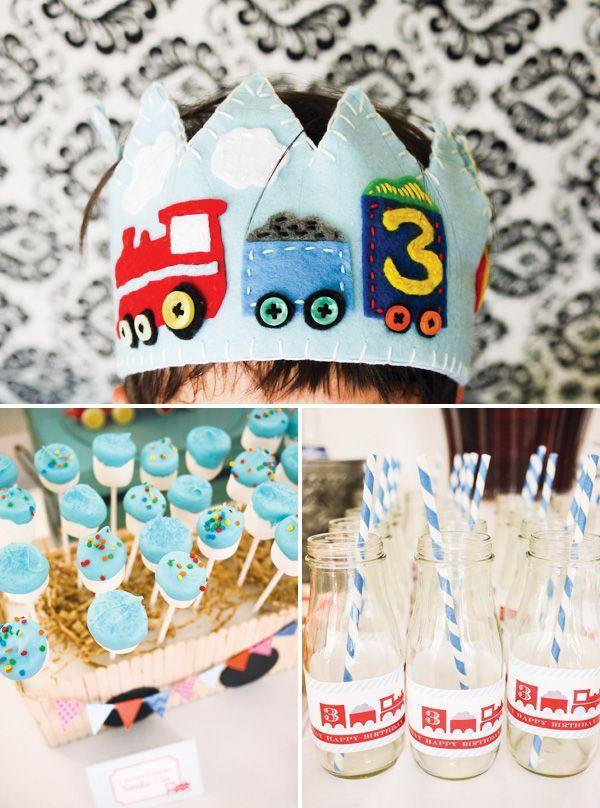 Crafty Choo Choo Train Party.