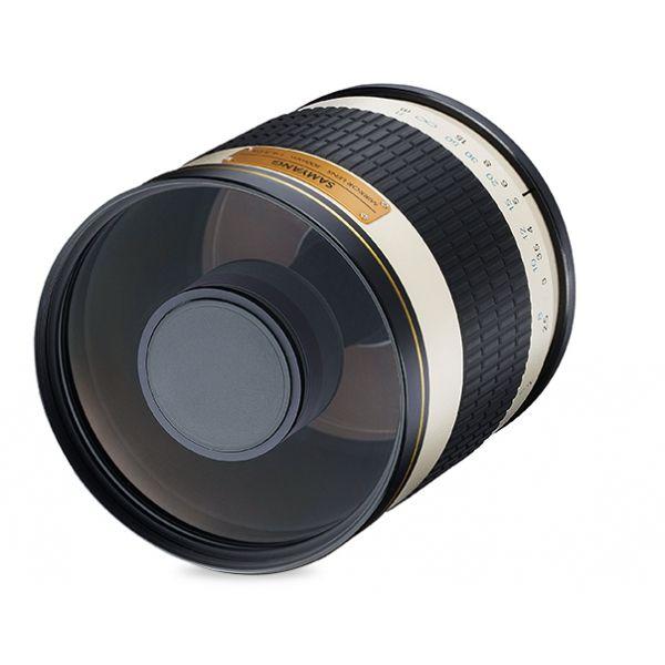#Samyang / Walimex 500 mm F6,3 IF MC #tükörobjektív.  A Samyang 500 mm IF MC F6,3 objektív manuális fókusszal és többszörös tükröződésgátló bevonattal, tökéletes választás amatőröknek és profiknak egyaránt, akiknek fontos az ár-érték arány. Ez az F6,3 fix blende változatnak hatékony a fénygyűjtő technikája, akárcsak az F8 verziónak, mégis a kompakt kategóriába tartozik az 500 mm-es fókusztávolságával. Kiváló természetfotózáshoz, csillagászathoz, megfigyelésekhez vagy bármilyen…