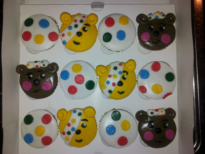 children in need cupcakes