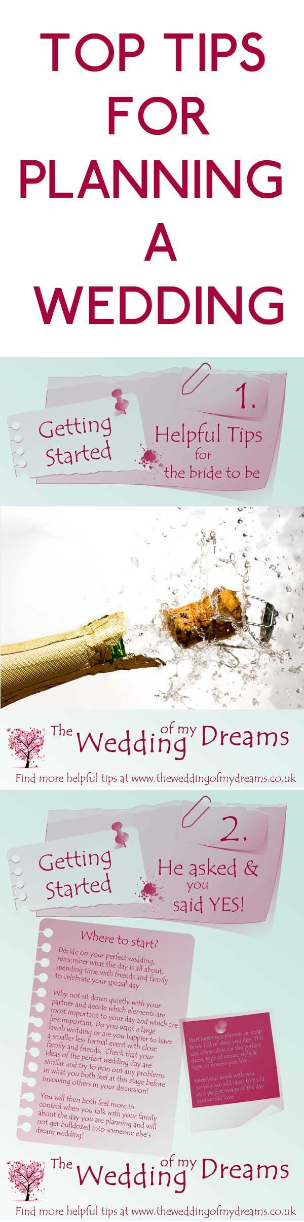 17 Best ideas about Plan My Wedding on Pinterest