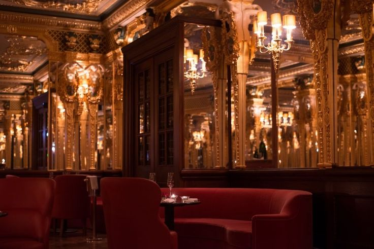 The Oscar Wilde Bar Originally established in 1865, the Oscar Wilde Bar, formerly the legendary Grill Room, is the jewel of Hotel Café Royal. Frequented by the namesake himself, care has been taken to restore its Grade II listed setting and authentic Louis XVI detailing, ringing in a new era of opulence.