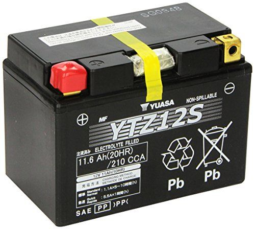 YUASA YTZ12S Batterie de Moto  http://www.123bonsplans.fr/produit/yuasa-ytz12s-batterie-de-moto/