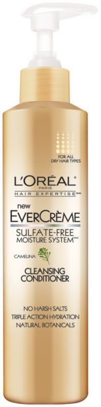 after workouts : L'Oréal EverCreme Cleansing Conditioner Ulta.com - Cosmetics, Fragrance, Salon and Beauty Gifts