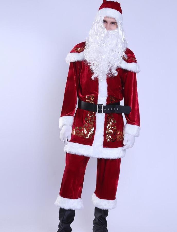 Santa Claus Kostüm Möbel & Zubehör für die frühkindliche Bildung Frühkindliche Rollenspiele