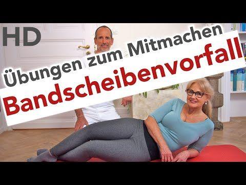 Bandscheibenvorfall // Rückenschmerzen, Wirbelsäule, Bandscheiben, Wirbelsäulenschmerzen - YouTube