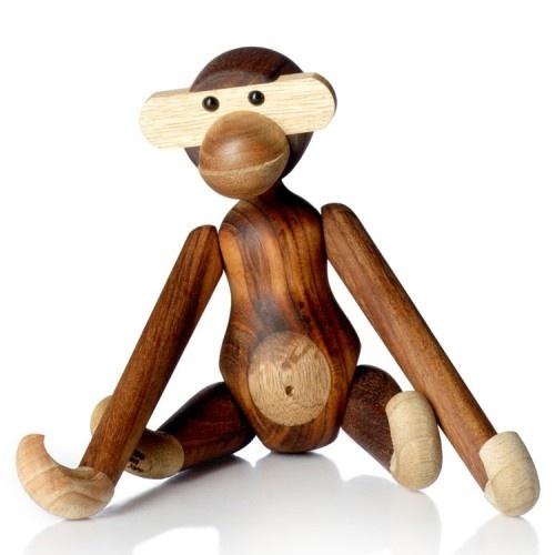 Wooden monkey toy