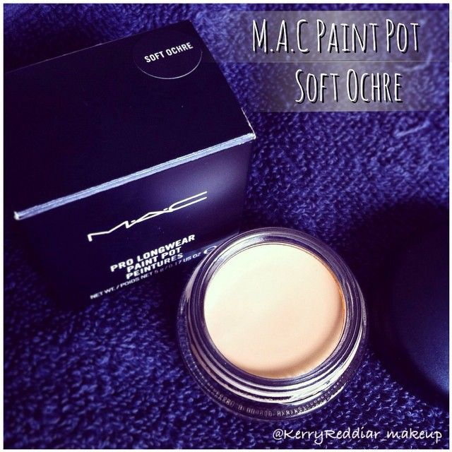 I love this MAC Paint Pot in Soft Ochre use it as a base before applying eyeshadow. My eyeshadow doesn't crease and lasts all day #MAC #macpaintpot #makeup #softochre #kerryloves @makeupbykerryr  https://www.facebook.com/196640967195875/photos/a.210638842462754.1073741830.196640967195875/348044665388837/?type=1&theater